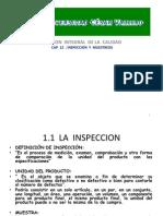 Gestion Integral de La Calidad Cap 12 Inspeccion y Muestreo 21 Jun 11