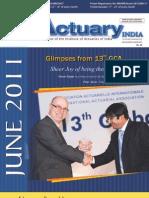 Actuary India June 2011