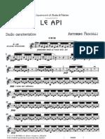 Pasculli Le API Oboe and Piano