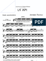 Pasculli Le API Oboe and Piano