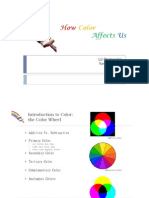 How Color Affects Us