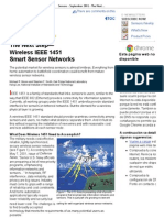 Sensors - September 2001 - The Next Step--A Wireless IEEE 1451 Standard for Smart Sensor Networks