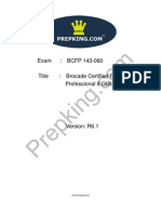 Prepking 143-060 Exam Questions