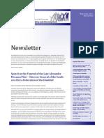 GPDD Newsletter May-June