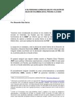 VIOLACIÓN DE DATOS PERSONALES (IDENTIDAD ROBADA) EN EL FRAUDE A LA DIAN