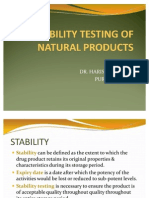 stability Testing of Natural Products_2003