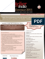 Hotelier India - HR Conference 2011