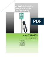Electric Vehicle Charging Infrastructure in the City of Berkeley