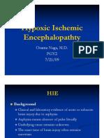 hypoxic encephalopathy