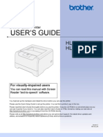 Brother HL 5250DN User Manual