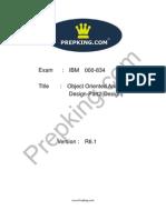 Prepking 000-834 Exam Questions