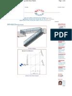 Design Calculation-glass Balustrade   Wind Speed   Bending