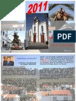 Fiestas de Tunte 2011 - Programa