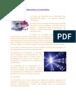 Matemática, Informatica, Edumática y Telemática