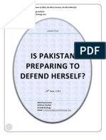 Is Pakistan Preparing to Defend Herself? Grandestrategy.com