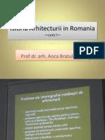 Istoria Arhitecturii in Romania