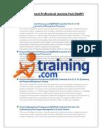 Pgmp Course Details