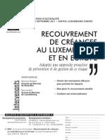 Conf Rec IFE Lux