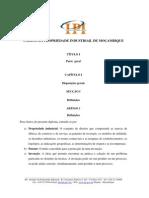 Codigo Da Propriedade Industrial de Mocambique