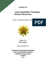 Tugas Akhir - BUSINESS LAW - Dhini Anggraini