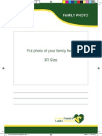 Family Health Book (English)