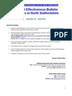 Clinical Effectiveness Bulletin no. 53 June 2011