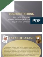 Yoghurt Kering