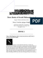 Three Books of Occult Philosophy Book 1 - Agrippa
