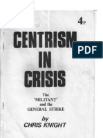Centrism in Crisis Chartist
