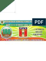SALUDO AL CN LA VICTORIA DE AYACUCHO POR LOS 180 AÑOS DE TRAYECTORIA INSTITUCIONAL AL SERVICIO DE LA JUVENTUD HUANCAVELICANA