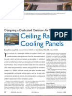 Radiant Cooling Ceiling Panels and DOAS - Mumma - ASHRAE Journal 2006-10