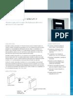 Pacom 8101 Series Keypad Datasheet Spanish Language