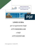 Linee Guida Tassazione Atti Imm. e Soc. - Versione Def.al 1 12 2010