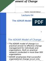 04 Mgt of Change-The Adkar Model 04