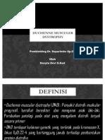 Duchenne Musculer Dystrophy-lapsus