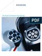 Daimler the Road to Emission Free Driving