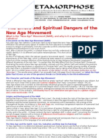 The Errors and Spiritual Dangers of the New Age Movement 2