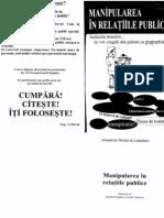 A. de Labart - Manipularea in Relatiile Publice