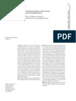 2002 (com Vládia Jucá) Saúde como ausência de doença - crítica à teoria funcionalista de Christopher Boorse