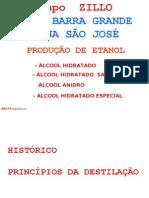 Barra Grande-São José - DESTILAÇÃO