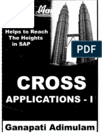 ABAP - Cross Applications - Part 1 (1 of 2) (Emax Technologies) 362 pages