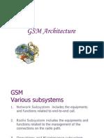 GSM Architecture P