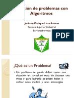 Solución de problemas con Algoritmos