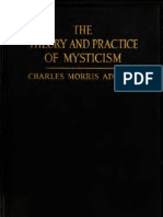 Charles Morris Addison - The Theory and Practice of Mysticism