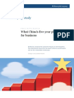 What China's five-year plan means for business--McKinsey Quarterly