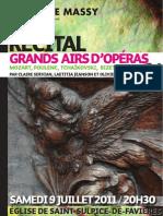 Prog récital St-Sulpice-de-Favières