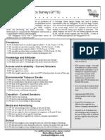 2007 Philippines GYTS Factsheet