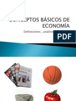 CONCEPTOS BÁSICOS DE ECONOMÍA 2