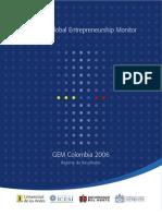 Informe GEM Colombia 2006-2007