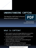 CAPTCHA Presentation